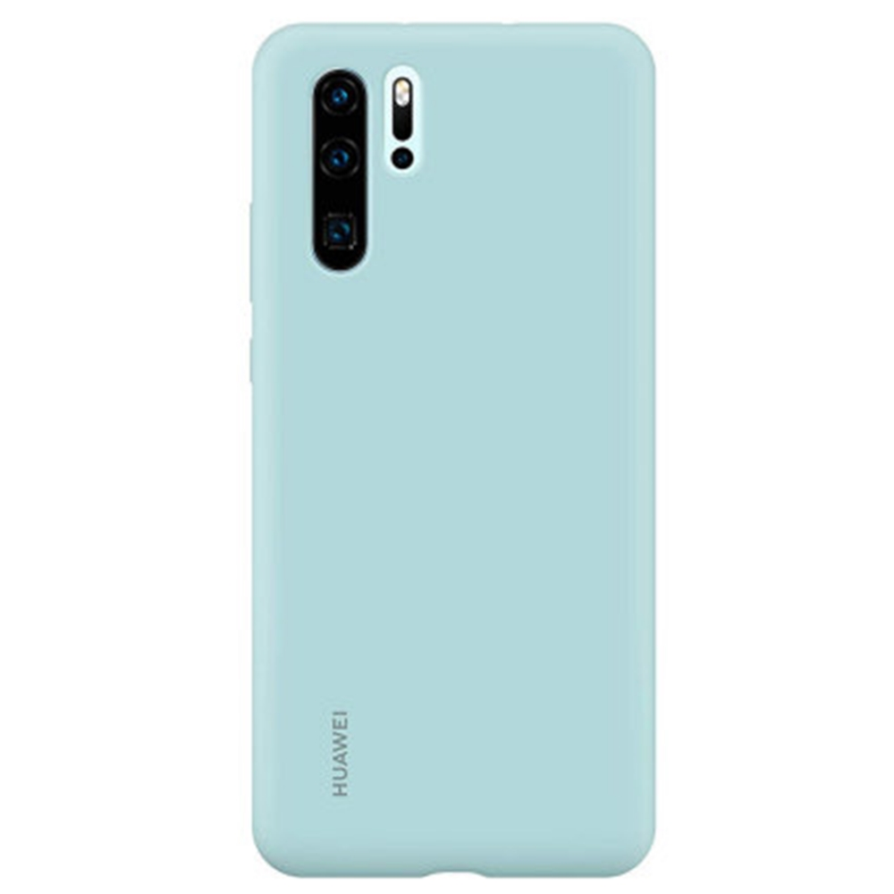 Capac protectie spate Huawei Silicone Cover pentru Huawei P30 Pro Light Blue