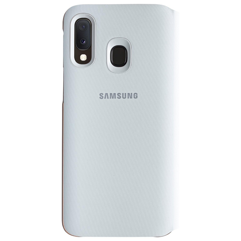 Husa Samsung Flip Wallet Cover pentru Galaxy A20e (2019) White
