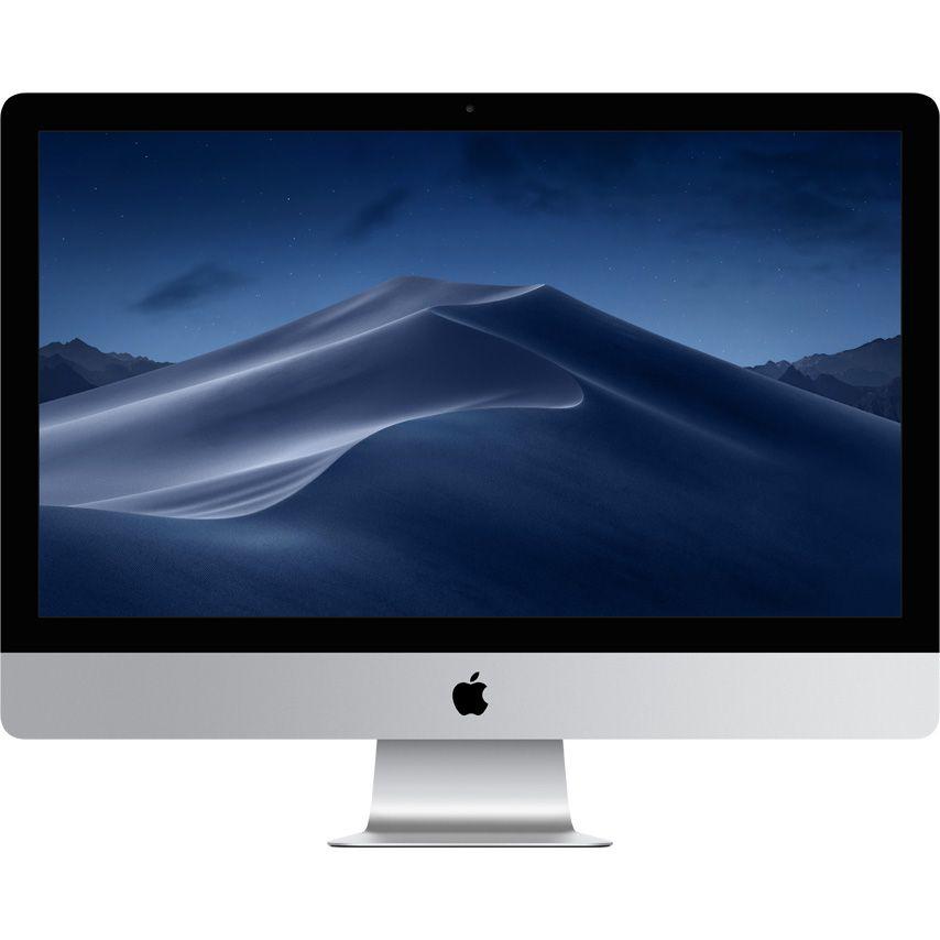 Sistem All-In-One Apple iMac 27 Retina 5K Intel Core i5 3.7 GHz Radeon Pro 580X-8GB 8GB RAM 2TB HDD Tastatura INT Mac OS