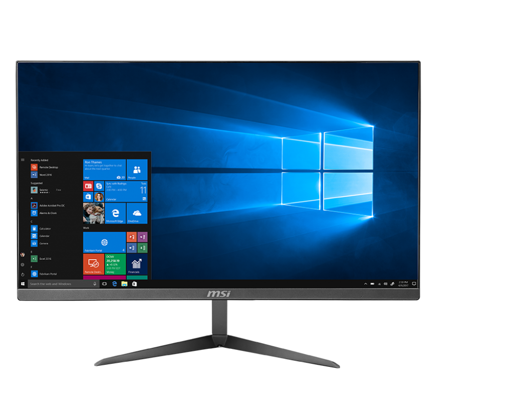 Sistem All-In-One MSI Pro 24X 7M 23.5 Full HD Intel Core i5-7200U RAM 4GB HDD 1TB No OS