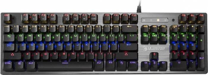 Tastatura Gaming A4Tech Bloody B760 LK Orange Switch
