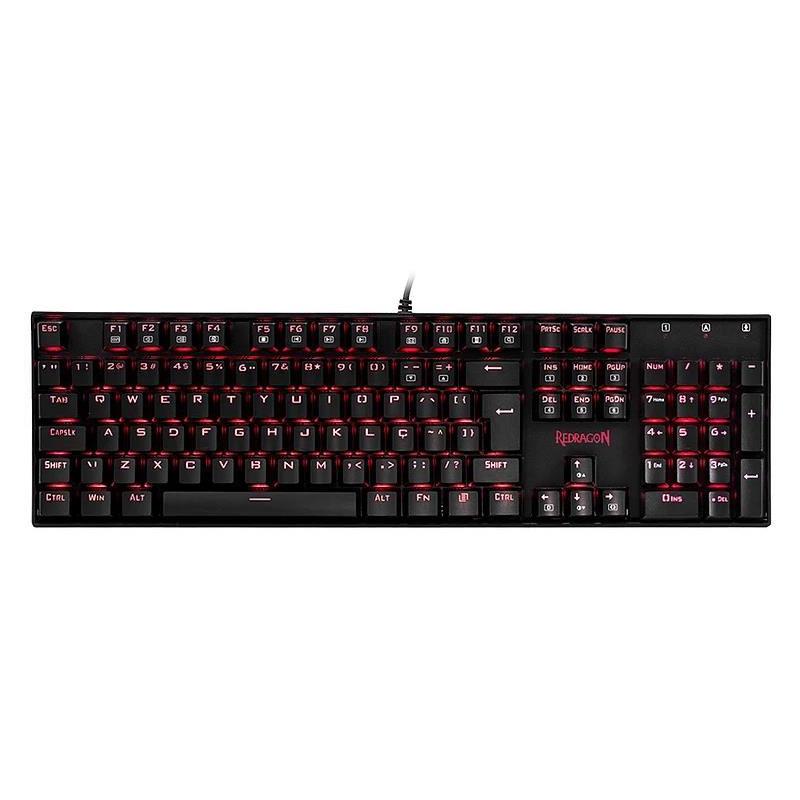 Tastatura Gaming Redragon Mitra Red LED
