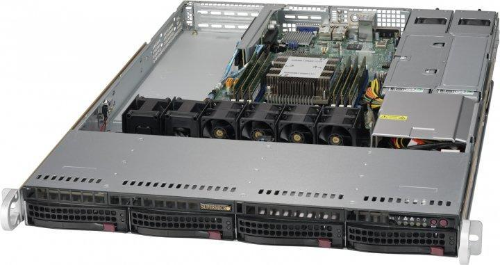 Barebone Server Supermicro 5019P-MR 4xLFF