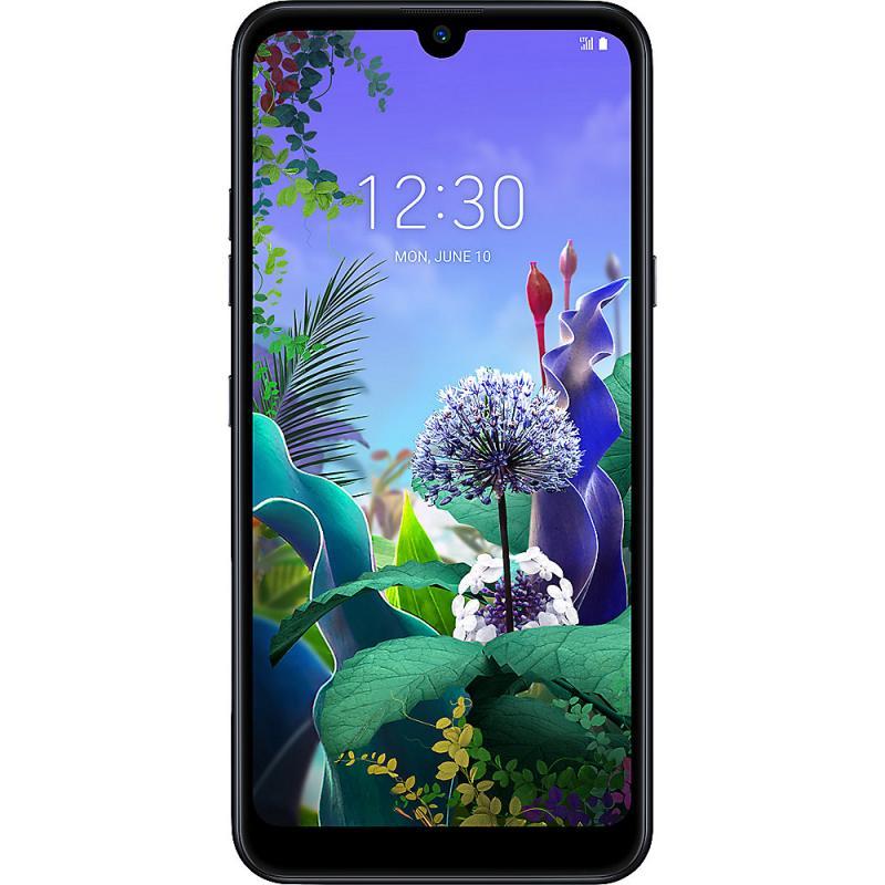 Telefon Mobil LG Q60 LMX525 64GB Flash 3GB RAM Dual SIM 4G Black