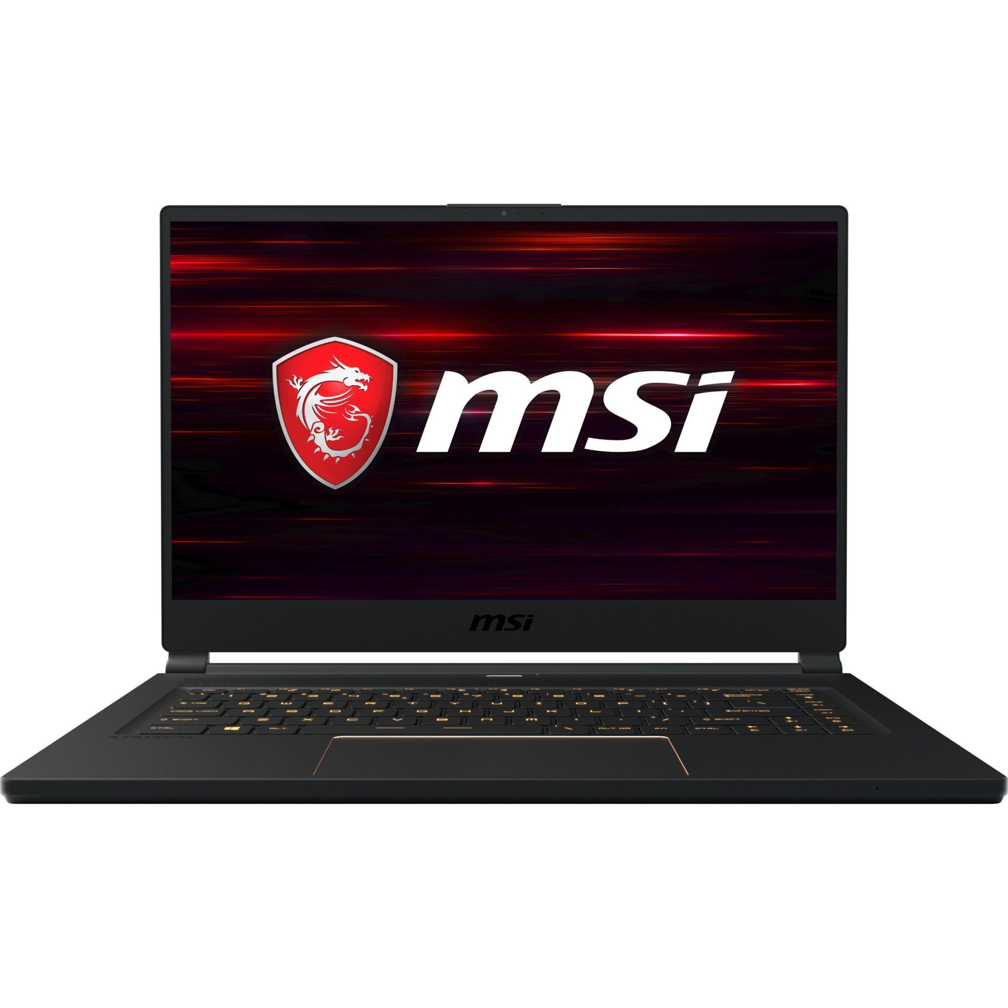 Notebook MSI GS65 Stealth 8SF 15.6 Full HD Intel Core i7-8750H RTX 2070-8GB RAM 16GB SSD 512GB Windows 10 Home Advanced