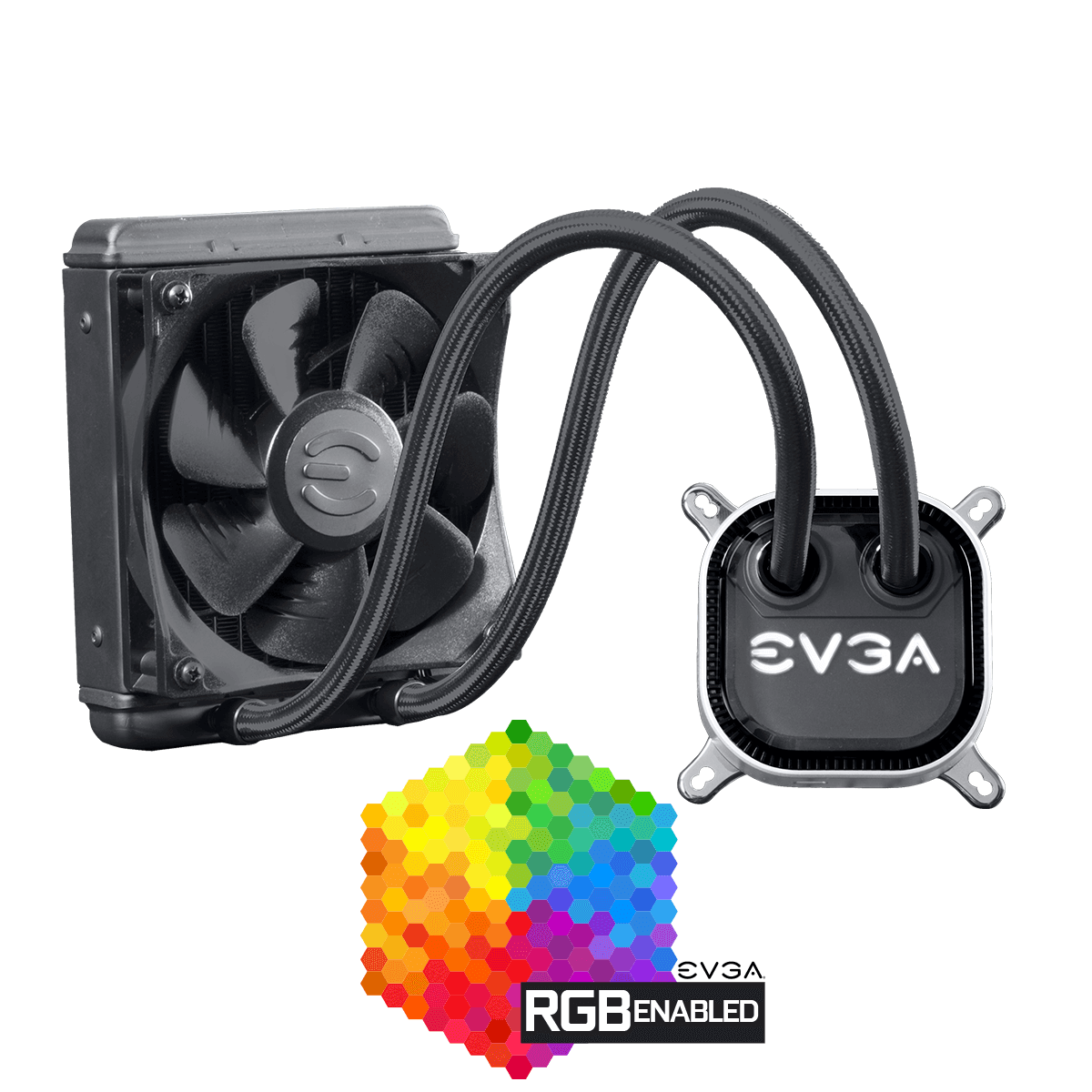 Cooler CPU EVGA CLC 120 Liquid RGB