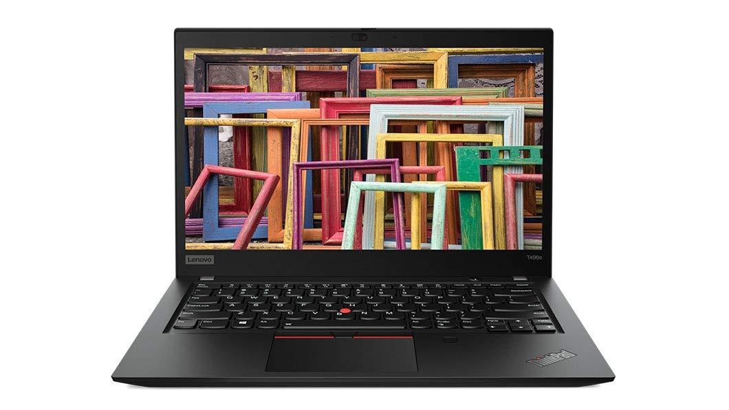 Ultrabook Lenovo ThinkPad T490s 14 Full HD Intel Core i5-8265U RAM 16GB SSD 512GB Windows 10 Pro 4G Negru