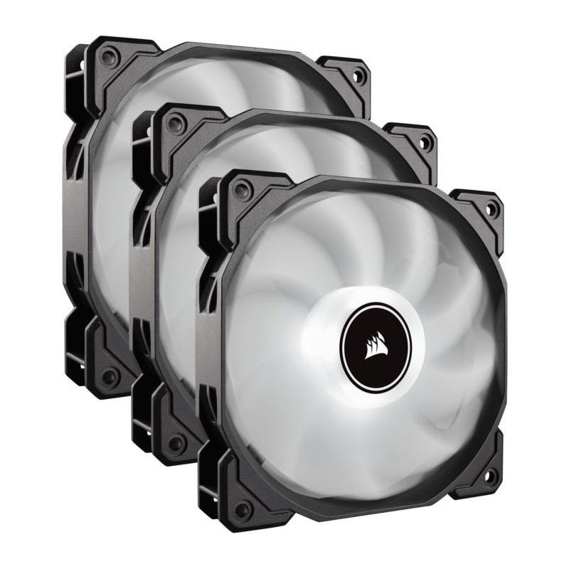 Ventilator Corsair Air Series AF120 LED White (2018) 120mm Triple Pack