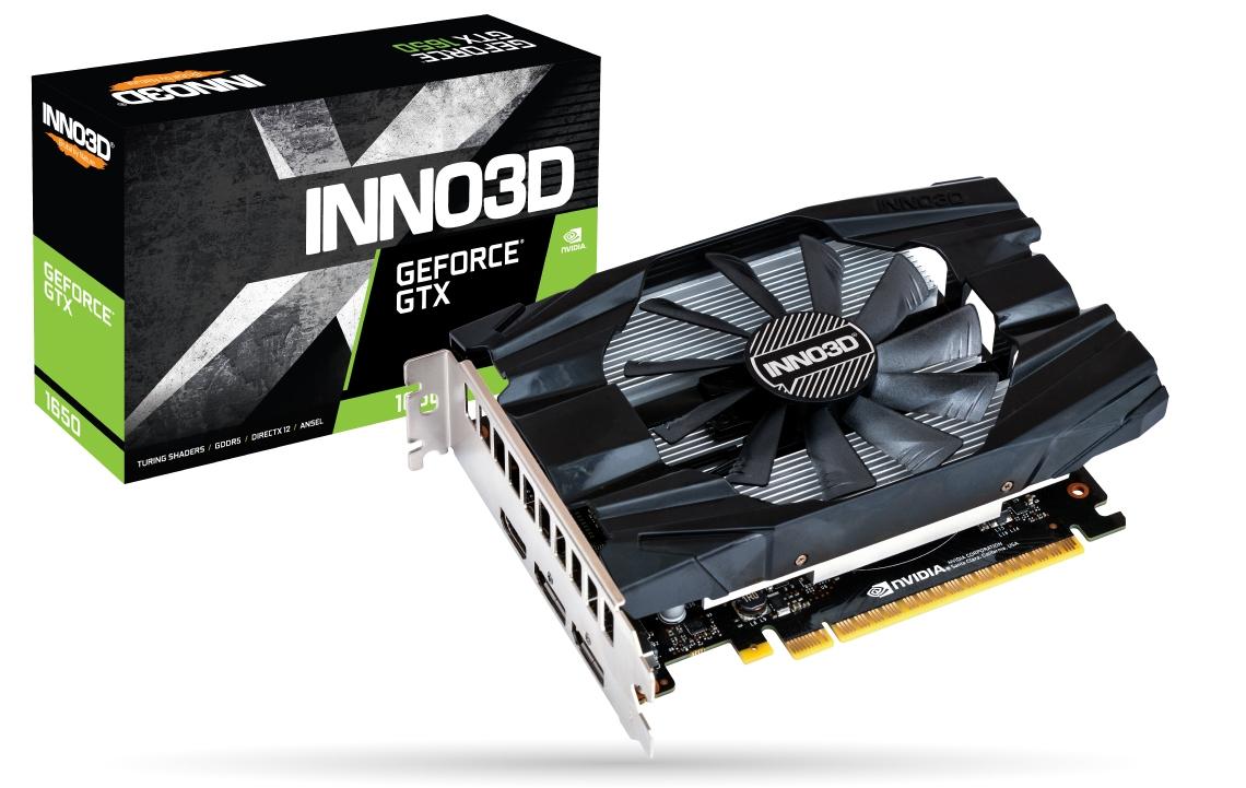 Placa Video Inno3D GeForce GTX 1650 COMPACT 4GB GDDR5 128 biti