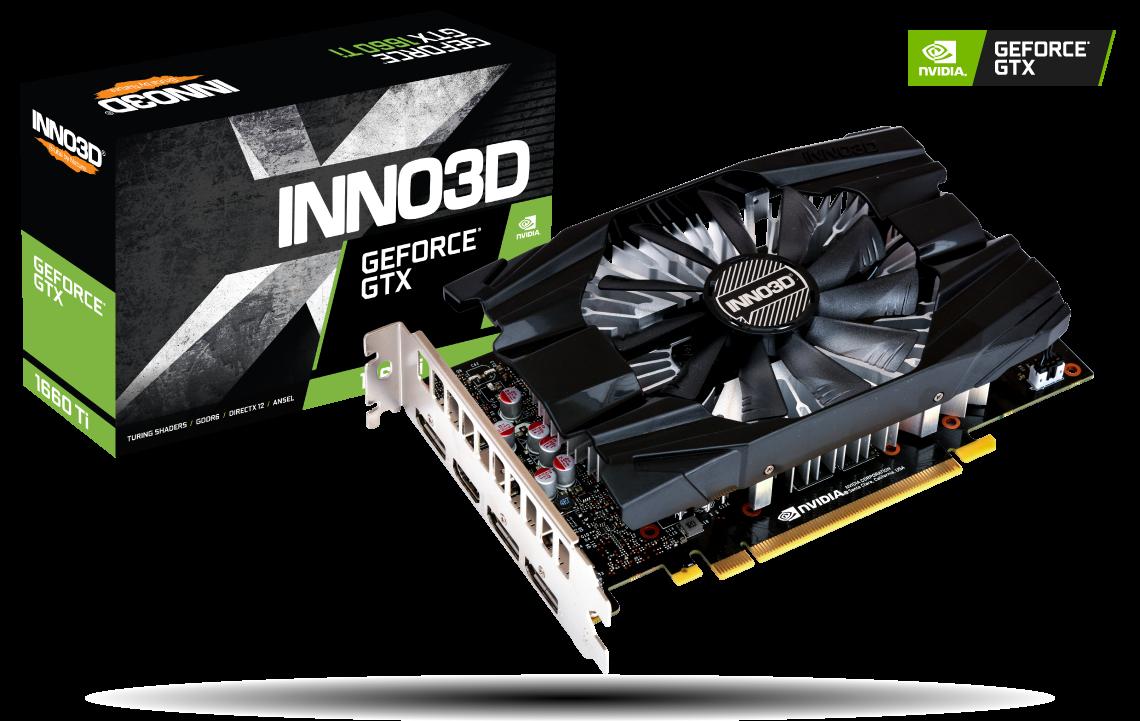 Placa Video Inno3D GeForce GTX 1660 Ti COMPACT 6GB GDDR5 192 biti