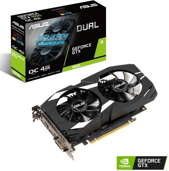 Placa Video ASUS GeForce DUAL GTX 1650 4GB GDDR5 128 biti