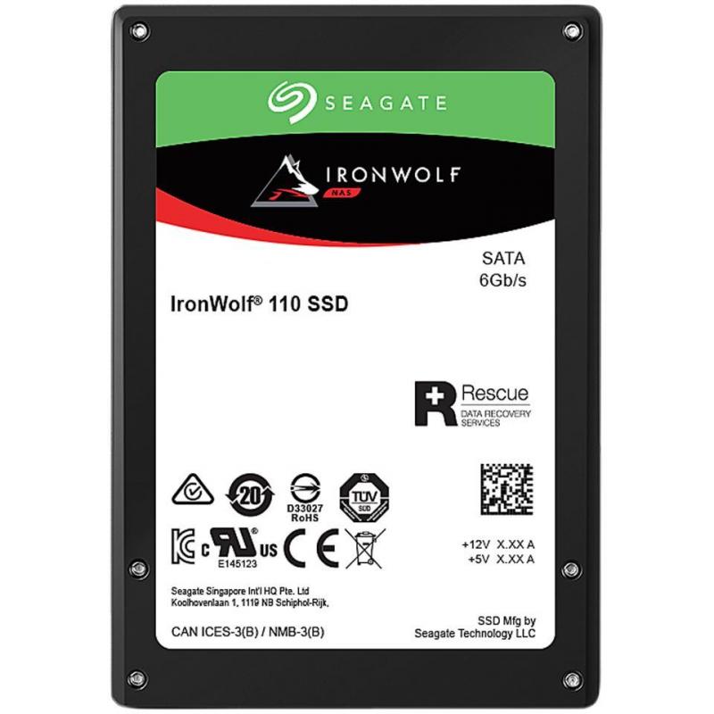 Hard Disk Ssd Seagate Ironwolf 110 480gb 2.5