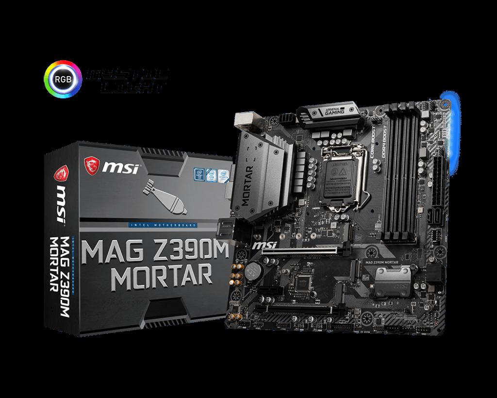 Placa de baza MSI MAG Z390M MORTAR Socket 1151 v2