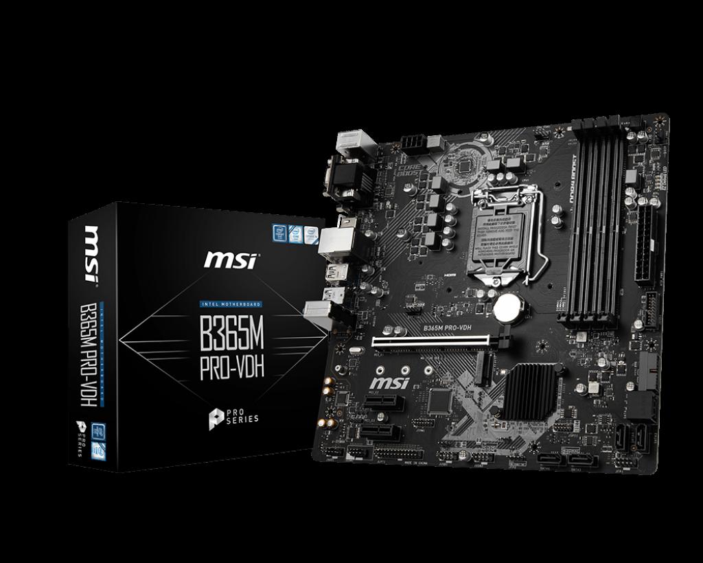 Placa de baza MSI B365M PRO-VDH Socket 1151 v2