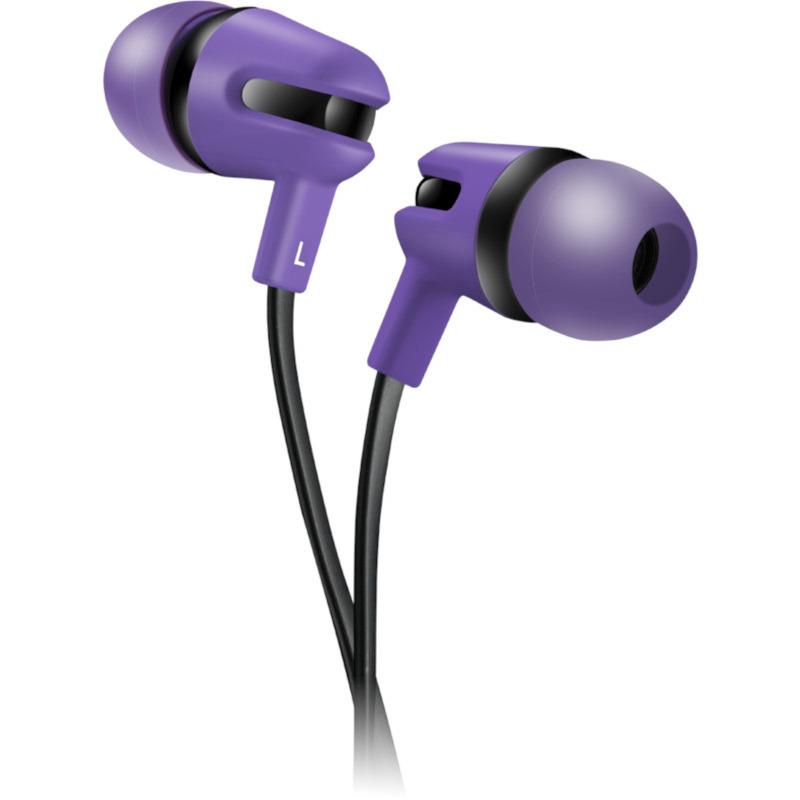 Casti Stereo Canyon CNS-CEP4P Purple