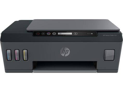 Multifunctional InkJet Color HP Smart Tank 500 All-in-One