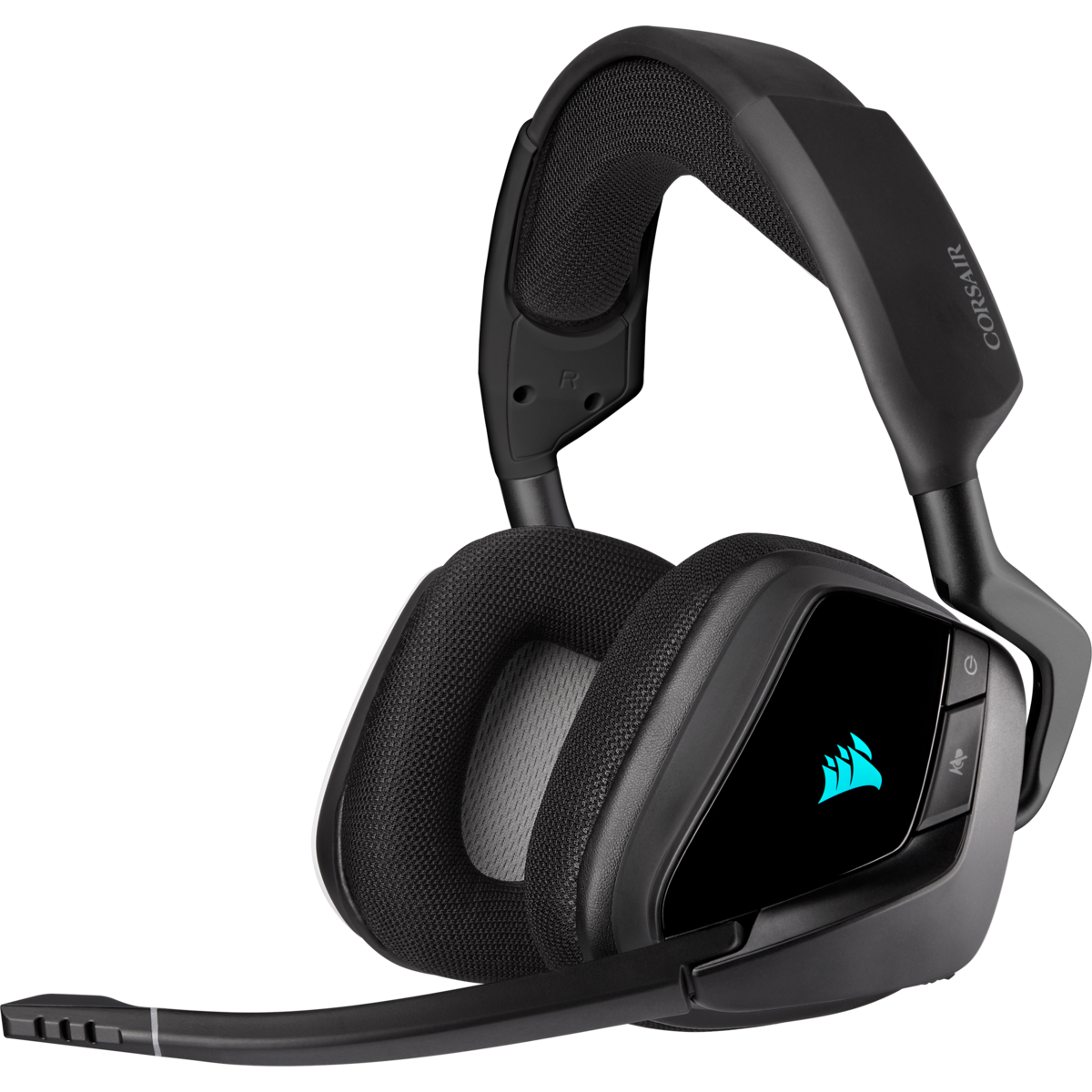 Casti Gaming Corsair VOID RGB ELITE Wireless Premium Carbon