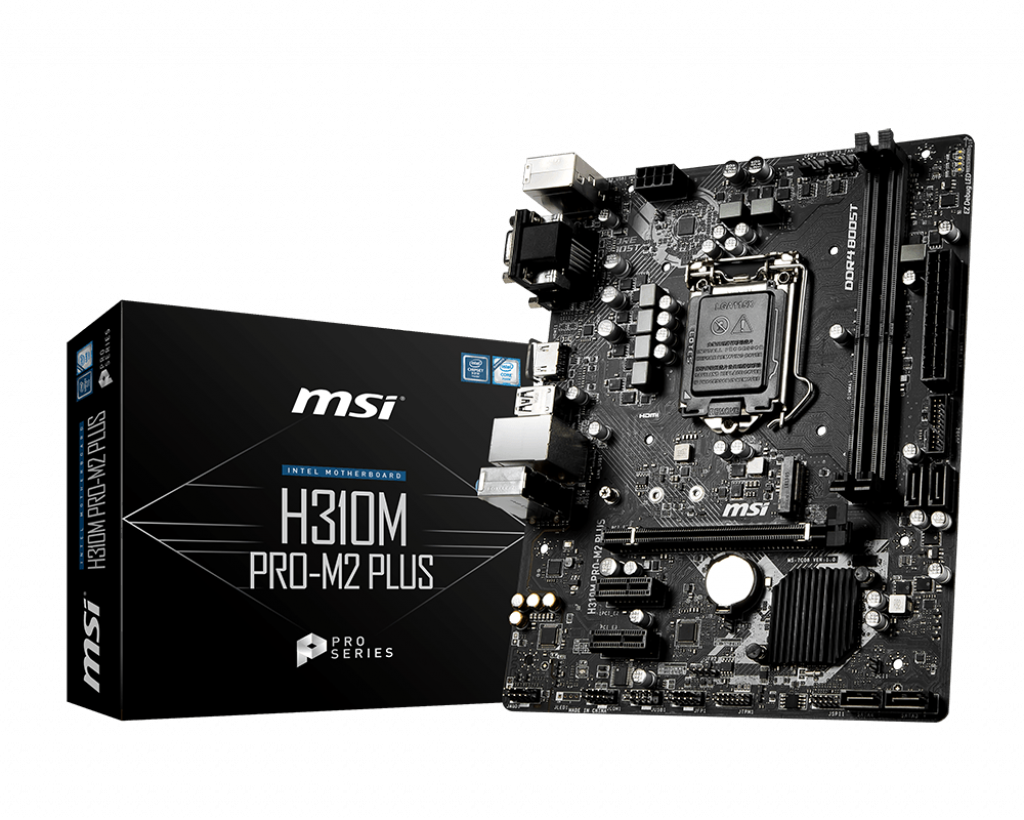 Placa de baza MSI H310M PRO-M2 PLUS Socket 1151 v2