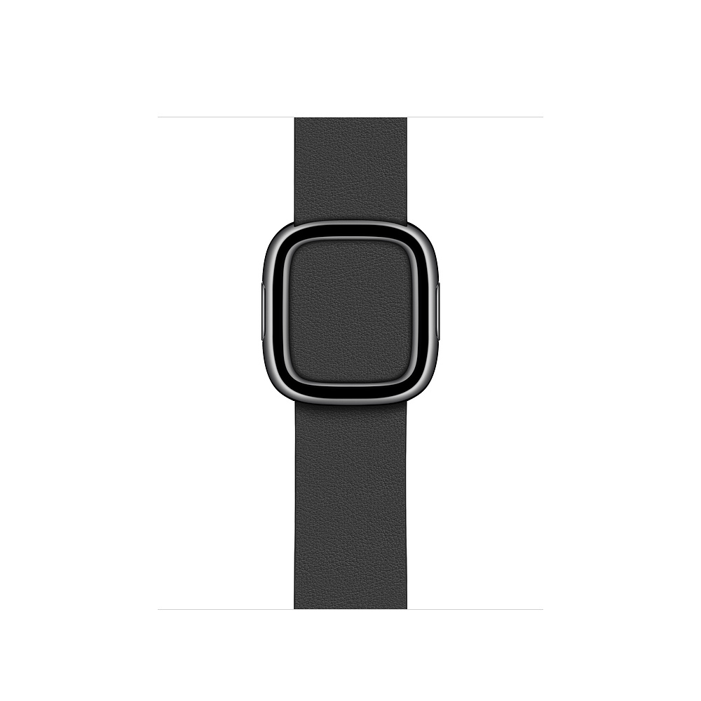 Curea Smartwatch Apple pentru Apple Watch 40mm Black Modern Buckle - Small
