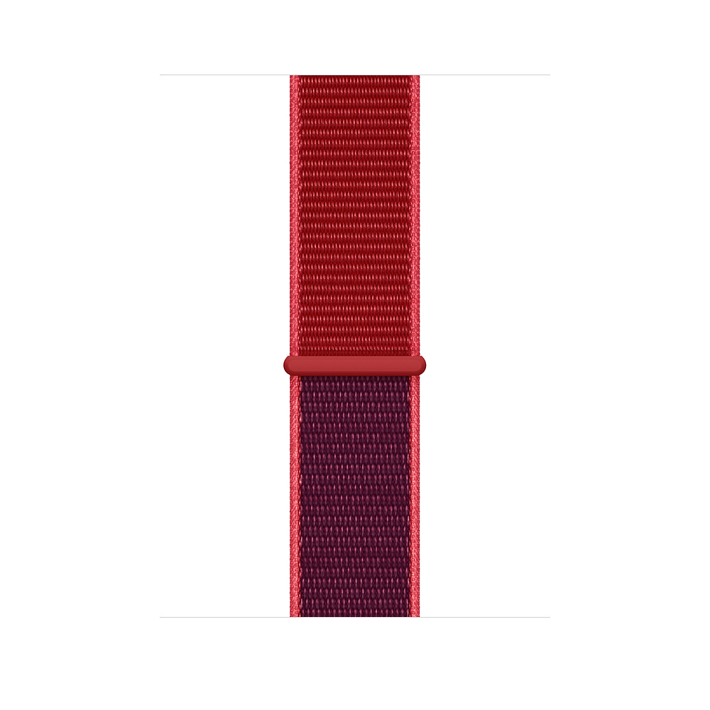 Curea Smartwatch Apple pentru Apple Watch 44mm (PRODUCT)RED Sport Loop