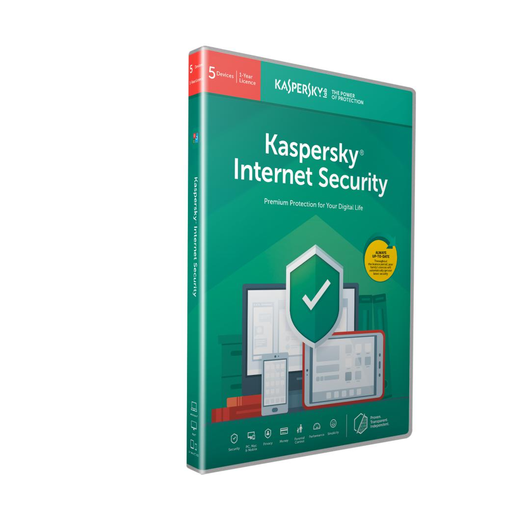 Kaspersky Internet Security Licenta Electronica 1 an 4 echipamente New