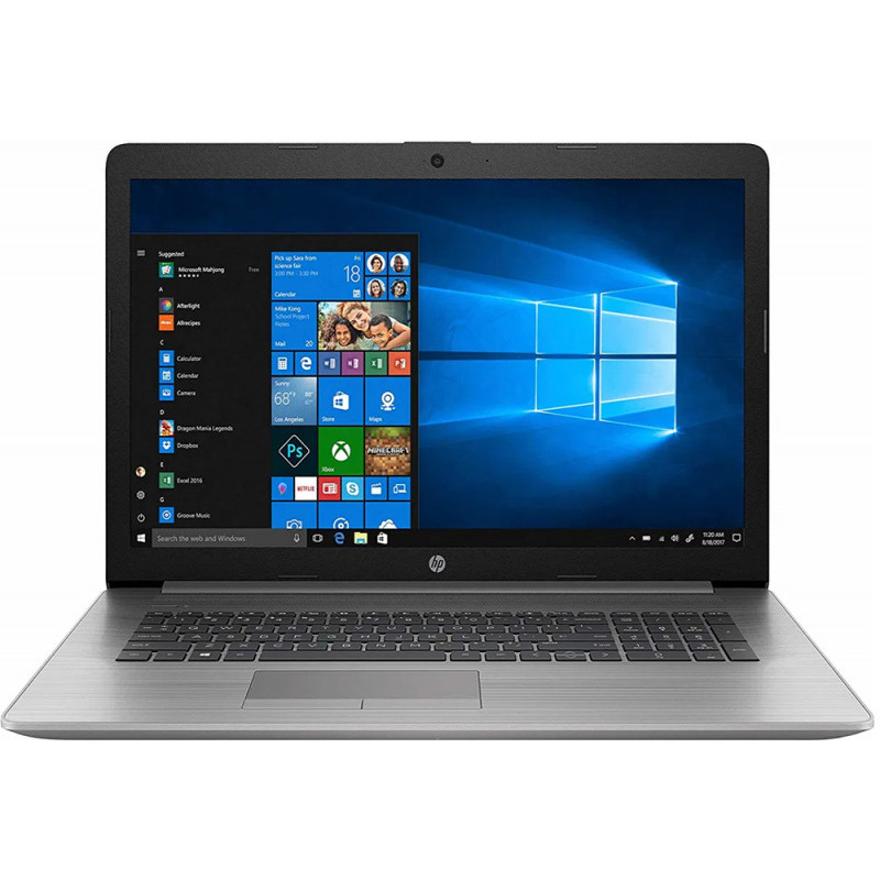 Notebook HP ProBook 470 G7 17.3 Full HD Intel Core i5-10210U Radeon 530-2GB RAM 16GB SSD 512GB Windows 10 Pro Argintiu