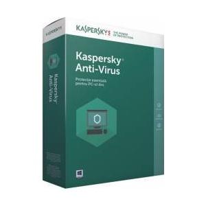 Kaspersky Anti-Virus Licenta Electronica 1 an 2 echipamente New