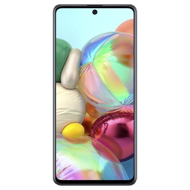Telefon Mobil Samsung Galaxy A71 128GB Flash 6GB RAM Dual SIM 4G Prism Crush Black