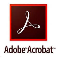 Adobe Acrobat PRO DC 2017 for Enterprise Licenta Electronica 1 an 1 utilizator New