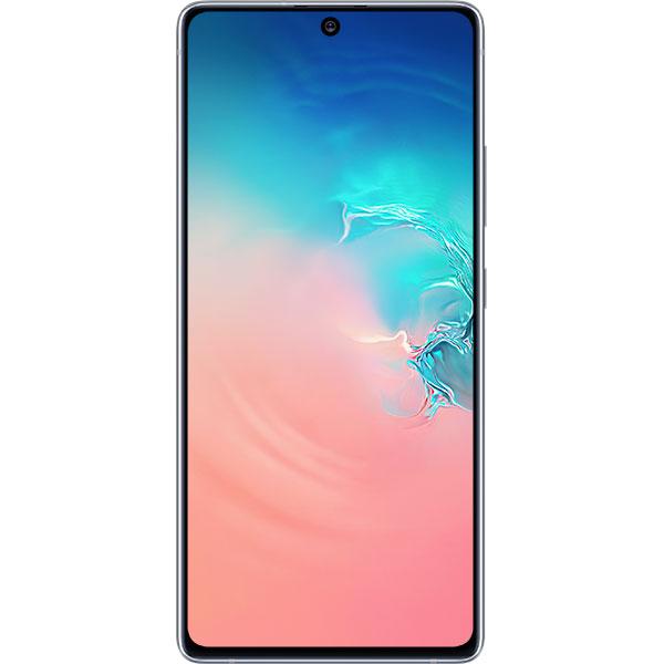 Telefon Mobil Samsung Galaxy S10 Lite G770 128GB Flash 8GB RAM Dual SIM 4G Prism White