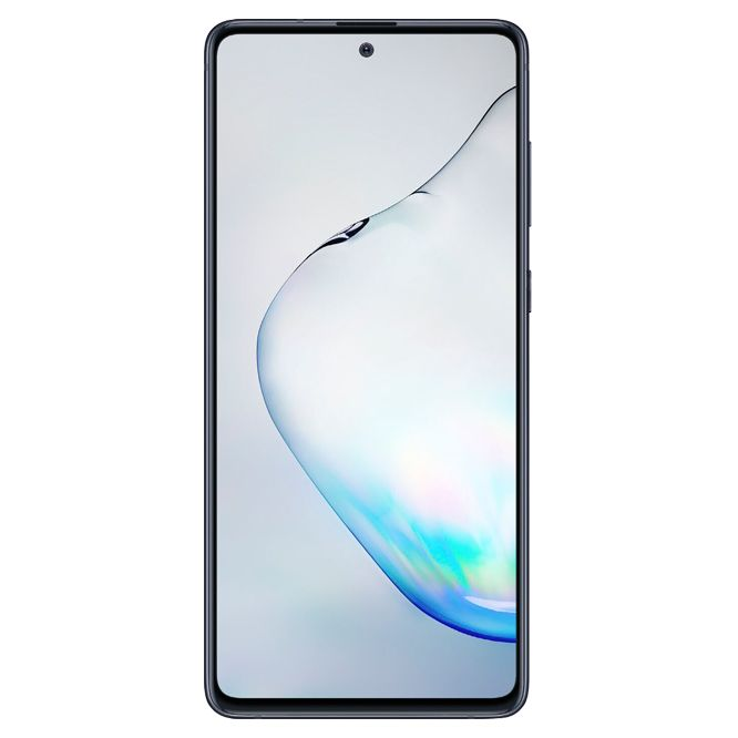 Telefon Mobil Samsung Galaxy Note 10 Lite N770 128GB Flash 6GB RAM Dual SIM 4G Aura Black