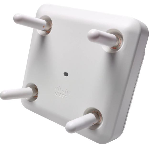 Access Point Cisco Aironet 3802E WiFi: 802.11ac frecventa: 2 4/5GHz - Dual radio fara alimentare PoE