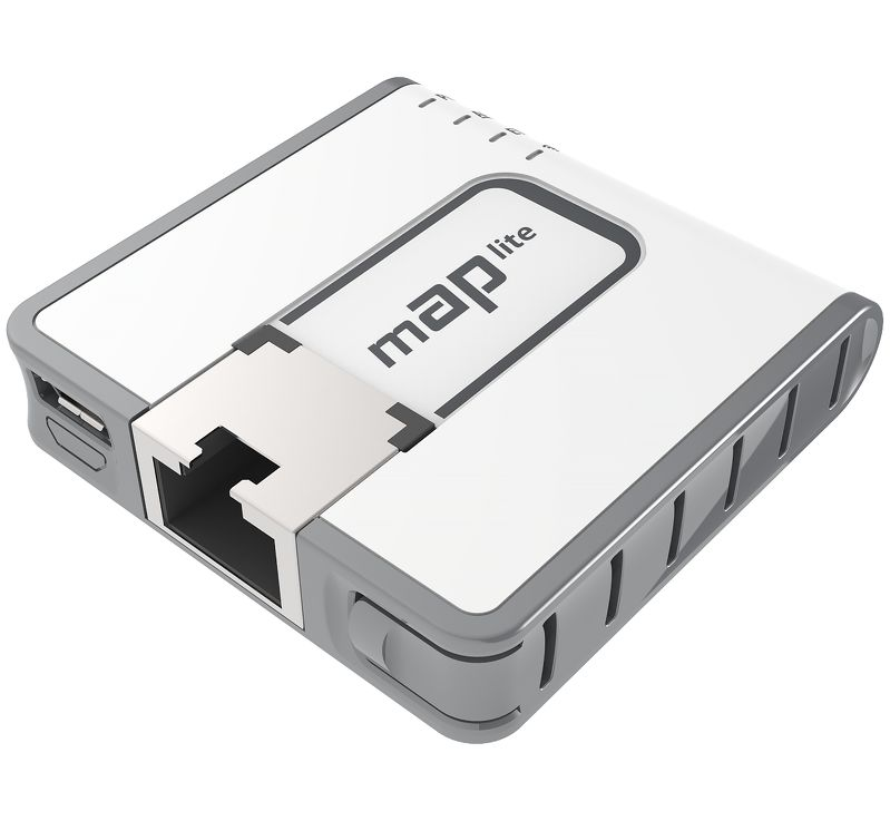 Access Point MikroTik mAP Lite Wi-Fi: 802.11n frecventa: 2 4GHz - Single radio cu alimentare PoE