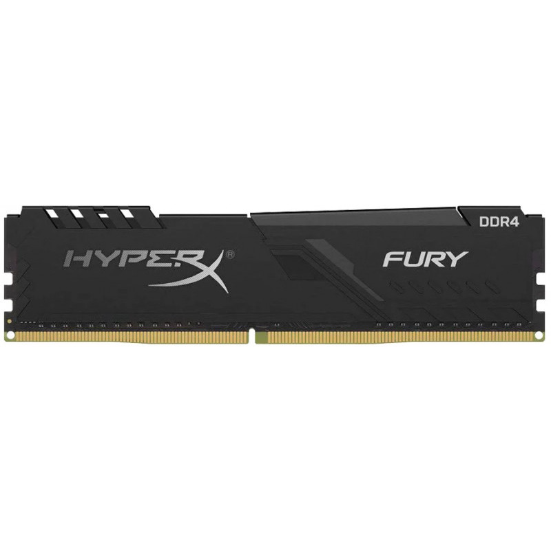 Memorie Desktop Kingston HyperX Fury 32GB DDR4 2666MHz Black