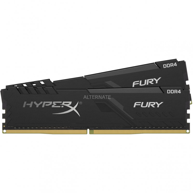 Memorie Desktop Kingston HyperX Fury 64GB(2 x 32GB) DDR4 2666MHz Black