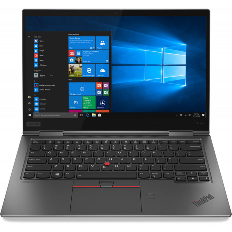 Ultrabook Lenovo ThinkPad X1 Yoga 4th Gen 14 Full HD Touch Intel Core i5-8265U RAM 16GB SSD 512GB 4G Windows 10 Pro Gri