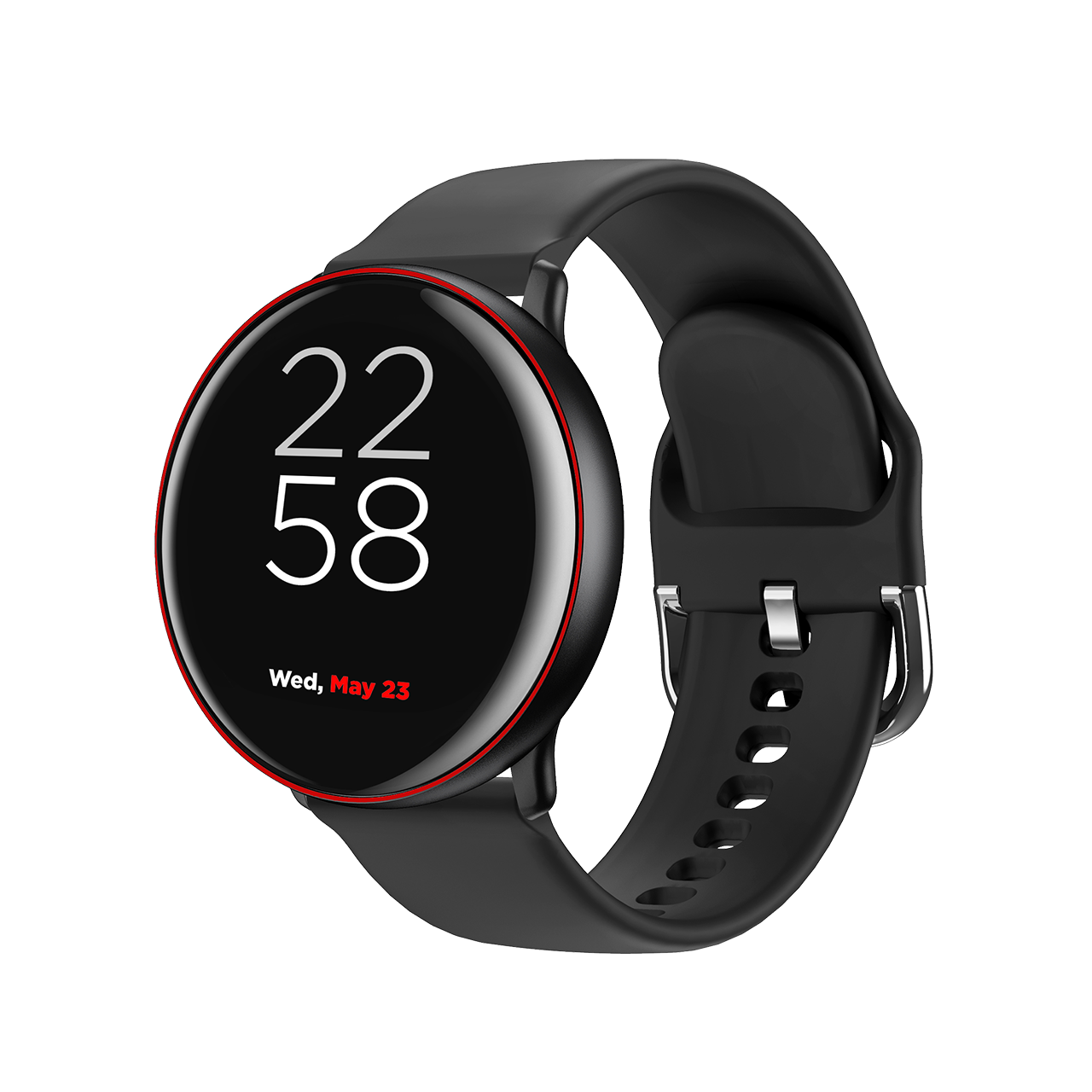 Smartwatch Canyon Marzipan CNS-SW75BR 41.5mm Black/Red