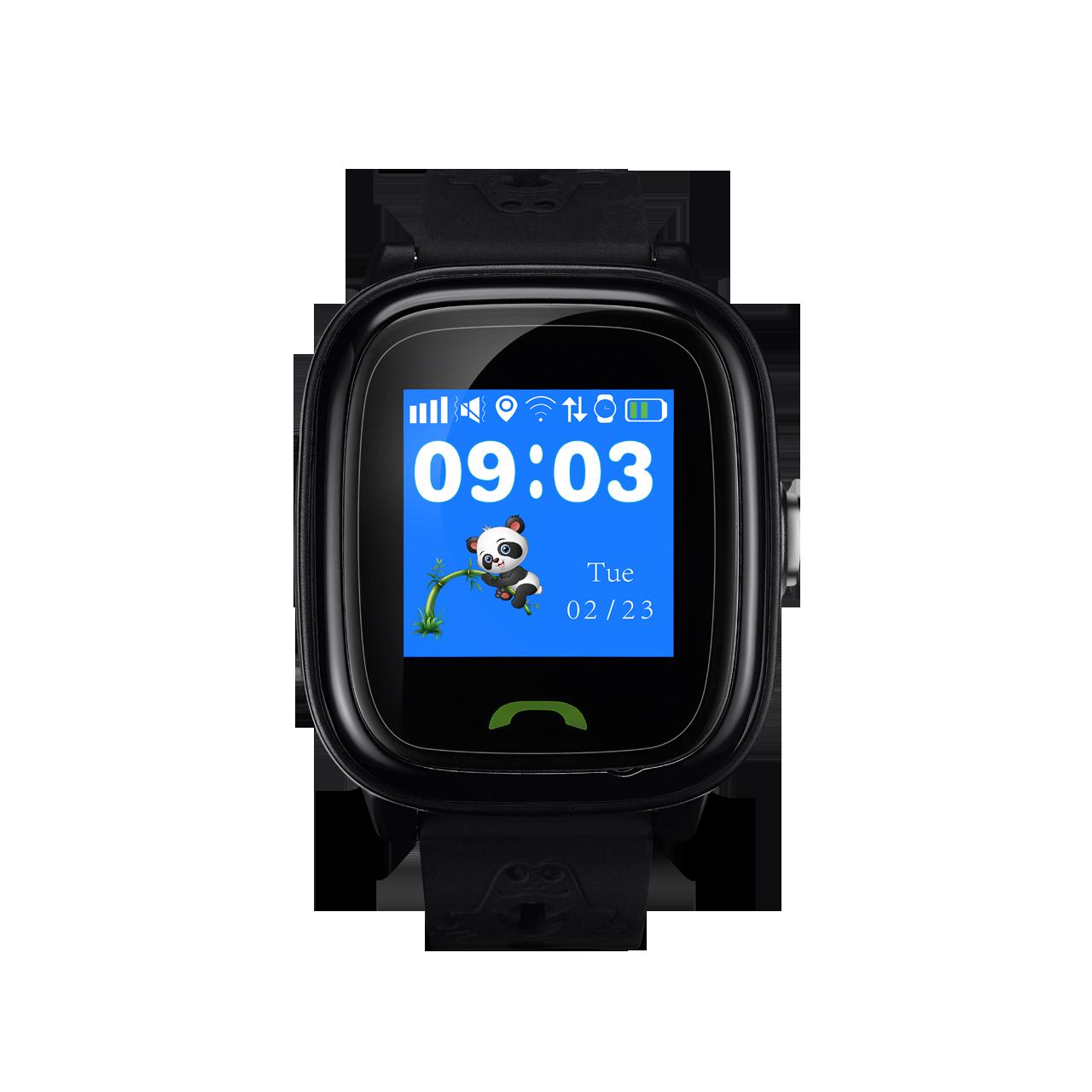 Smartwatch pentru copii Canyon Polly CNS-KW51BB localizare GPS Black