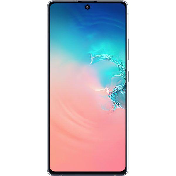 Telefon Mobil Samsung Galaxy S10 Lite G770 128GB Flash 6GB RAM Dual SIM 4G Prism White