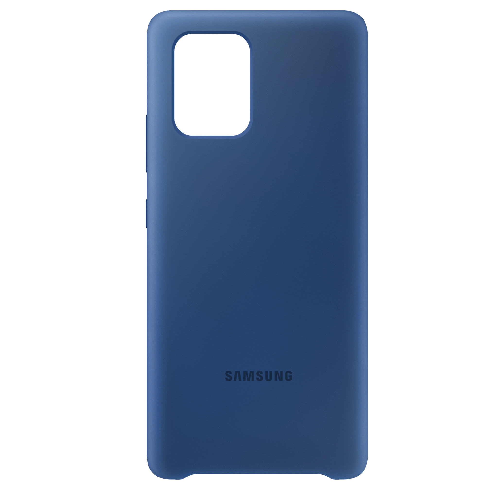 Capac protectie spate Samsung Silicone Cover EF-PG770 pentru Galaxy S10 Lite (G770) Blue