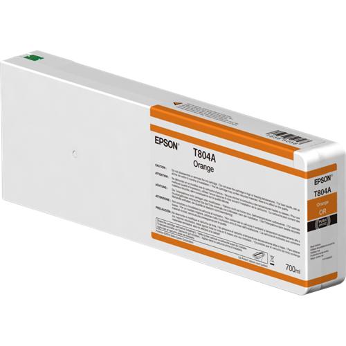 Cartus Inkjet Epson T804A Orange 700ml