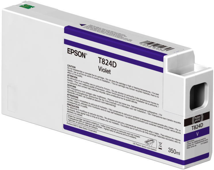 Cartus Inkjet Epson T824D Violet 350ml