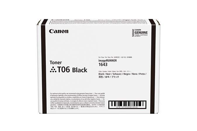 Cartus Toner Canon CRG-T06 Black 20500 pagini