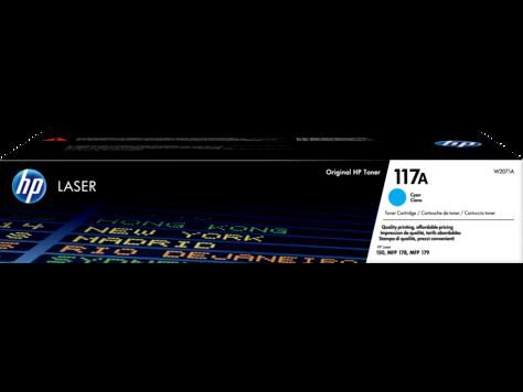 Cartus Toner HP 117A 700 pagini Cyan