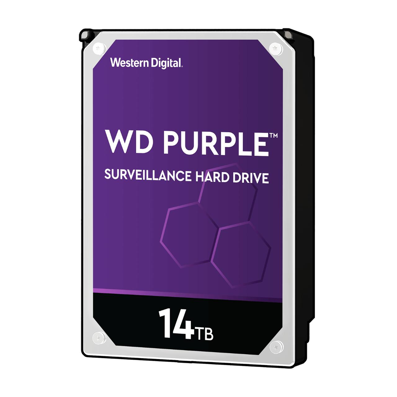 Hard Disk Desktop Western Digital WD Purple Surveillance 14TB 7200RPM SATA3 512MB