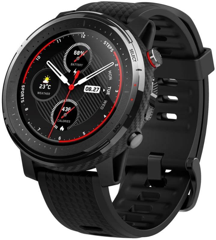 Smartwatch Xiaomi Amazfit Stratos 3 Black