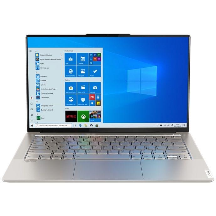 Ultrabook Lenovo Yoga S940 14 Ultra HD Intel Core i7-1065G7 RAM 16GB SSD 1TB Windows 10 Home Argintiu