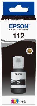 Cartus Inkjet Epson 112 Ecotank 127ml Black