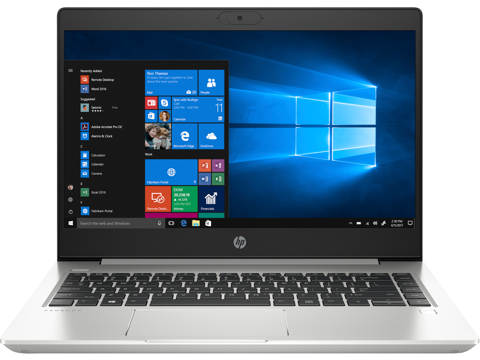 Notebook HP ProBook 440 G7 14 Full HD Intel Core i7-10510U RAM 8GB SSD 256GB Windows 10 Pro Argintiu