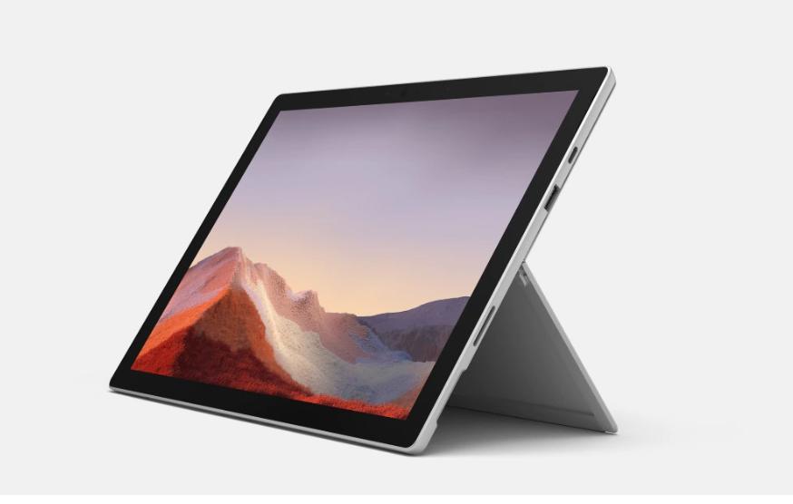 Tableta Microsoft Surface Pro 7 PixelSense 12.3 Intel Core i3-1005G1 RAM 4GB SSD 128GB Windows 10 Home Platinum
